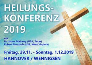 Heilungskonferenz im November 2019